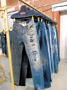 he FDS factory in El Paso, Texas, specializes in denim, leather outerwear and accessories.