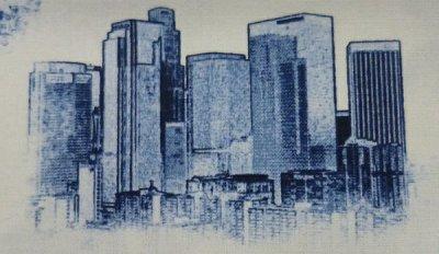 Robert Kaufman's Urban Toile fabric (#SRK-14530-67)