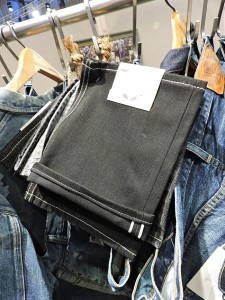 Cone Denim's black selvage denim