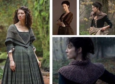 "The costumes in the first season of ""Outlander"" focused on tartans and knits."